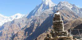 Trekking in Mardhi himal,