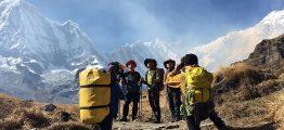 Annapurna trekking in Nepal
