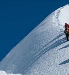 peak-climbing